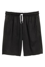 Sports shorts - Black - Kids | H&M CN 2